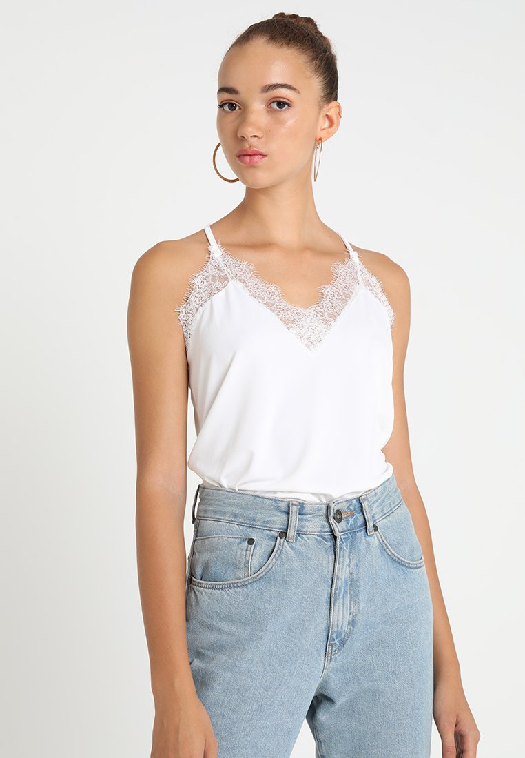 Vero Moda - VMMILLA  - Top - snow white