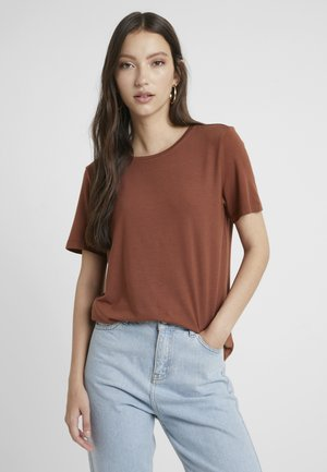 VMAVA - T-shirt basic - tortoise shell