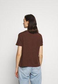 Vero Moda - VMAVA - T-shirt basic - rocky road - 2