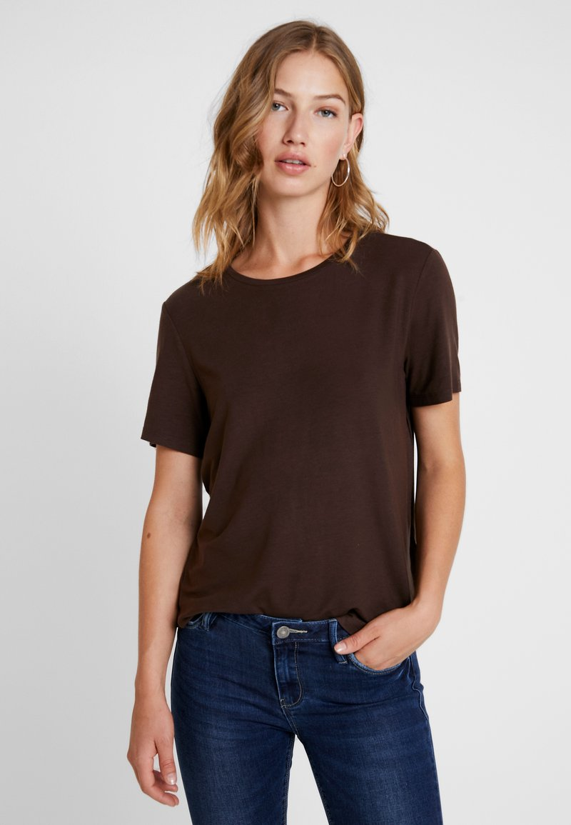 Vero Moda - VMAVA - Camiseta básica - coffee bean