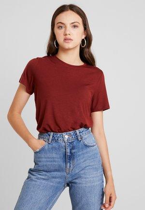 VMAVA - T-shirt basic - madder brown
