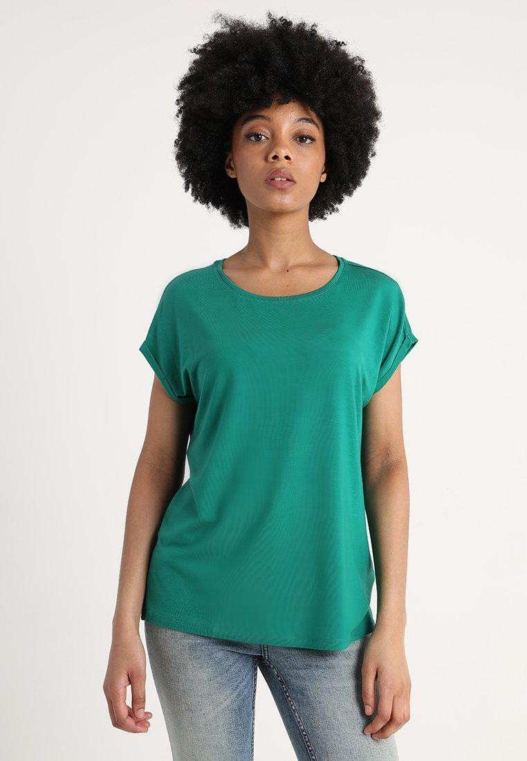 Vero Moda - VMAVA PLAIN COLOR - T-Shirt basic - shady glade