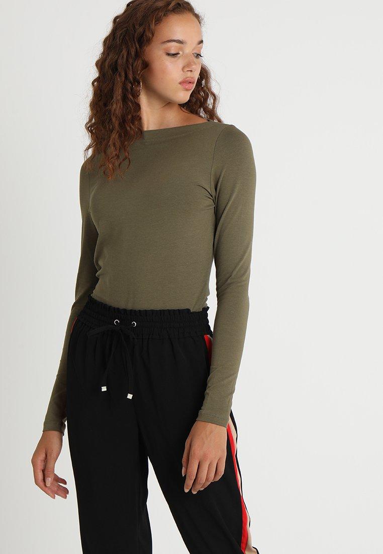 Vero Moda - VMPANDA  - Top sdlouhým rukávem - ivy green
