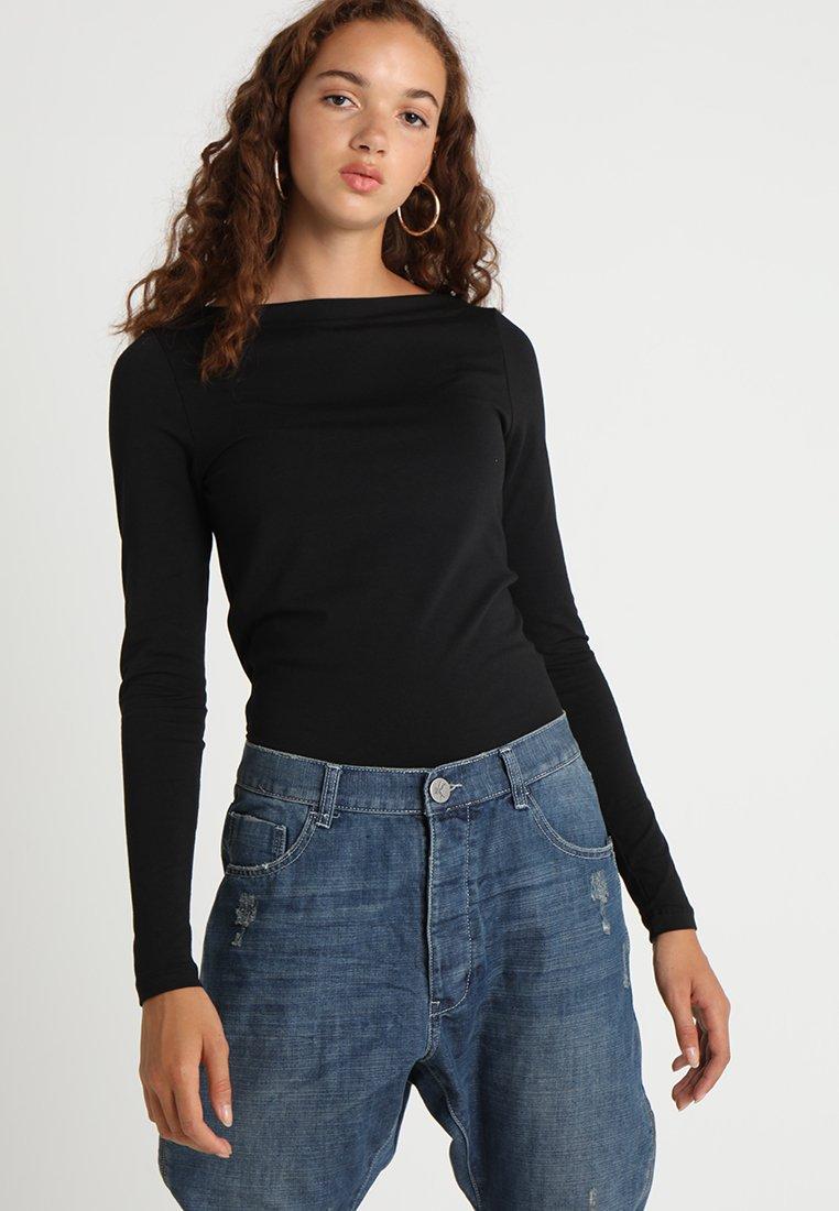 Vero Moda - VMPANDA  - Langarmshirt - black