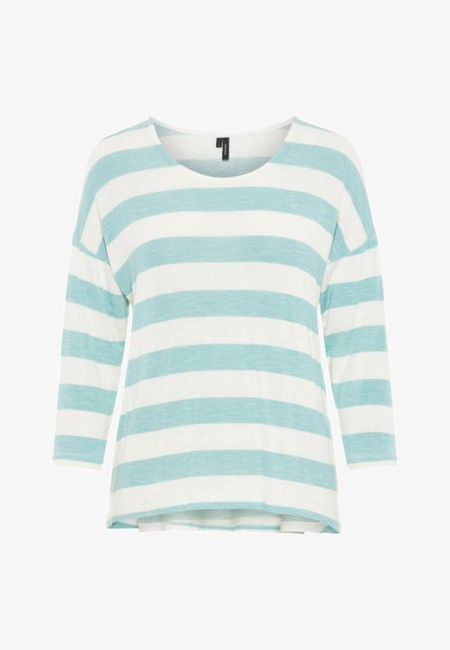 Vero Moda Sweter - turquoise Odzież Damska KKWG-XS8 30% OBNIŻONE