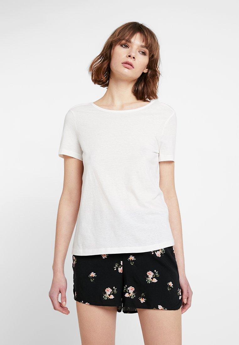 Vero Moda - VMREBECCA 2 PACK - Print T-shirt - black/snow white