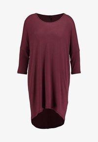 Vero Moda - VMKIA HONIE LOOSE LONG - Jersey dress - port royale - 4