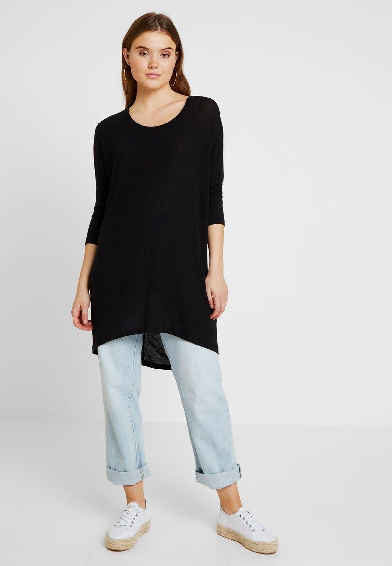 Vero Moda - VMKIA HONIE LOOSE LONG - Sukienka z dżerseju - black