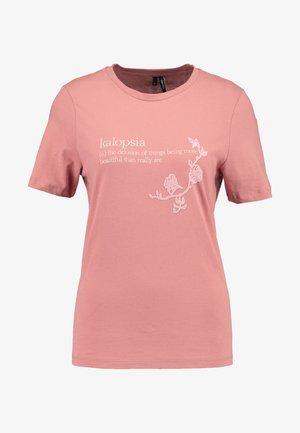 VMKALOPSIA - T-shirts print - brick dust