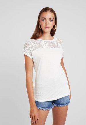 VMANASTASIA - T-shirts med print - snow white