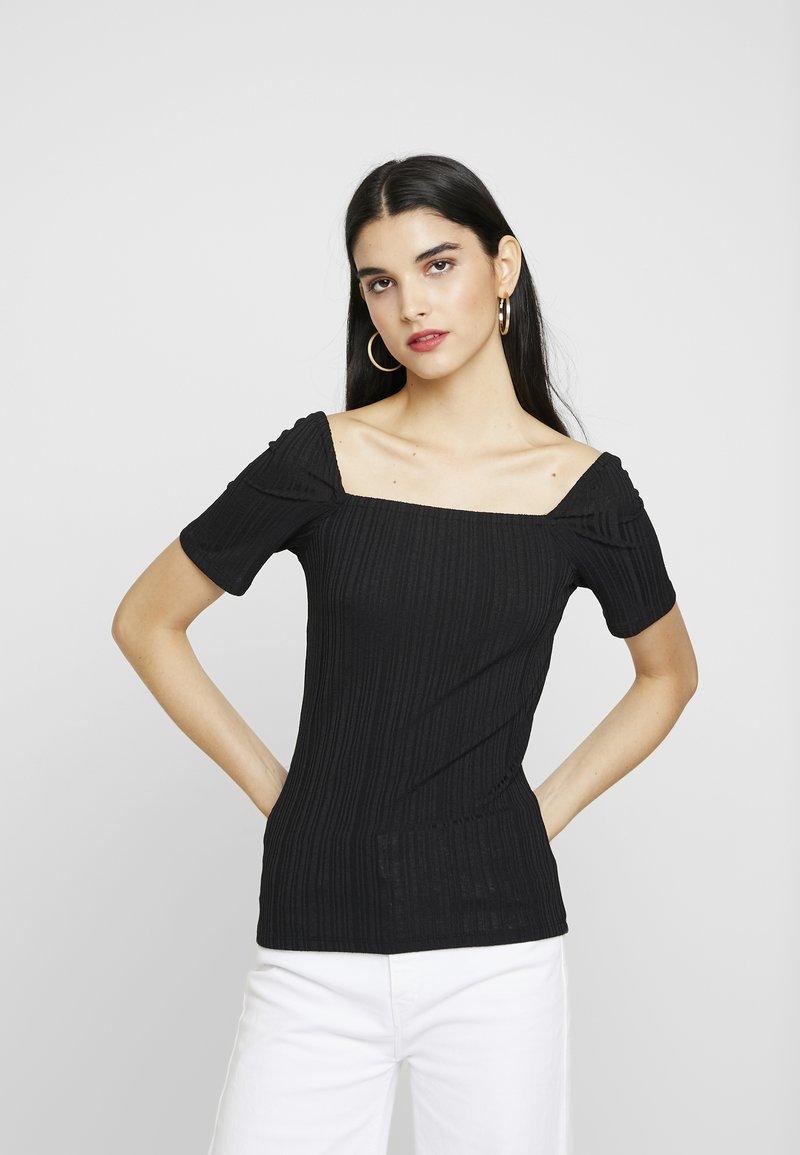 Vero Moda - VMPOPPY - T-shirt imprimé - black