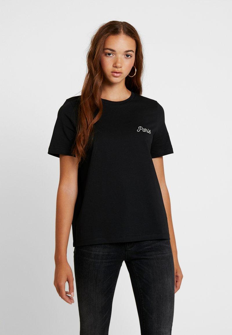 Vero Moda - VMPUKKA - T-shirts - black