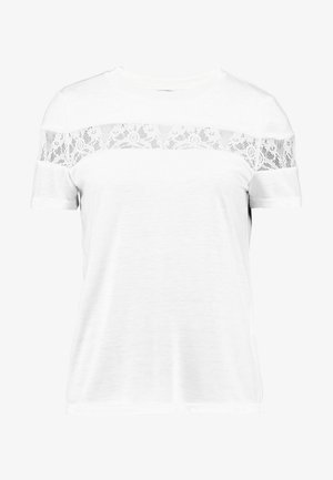 VMKASANDRA O NECK - T-shirts med print - snow white