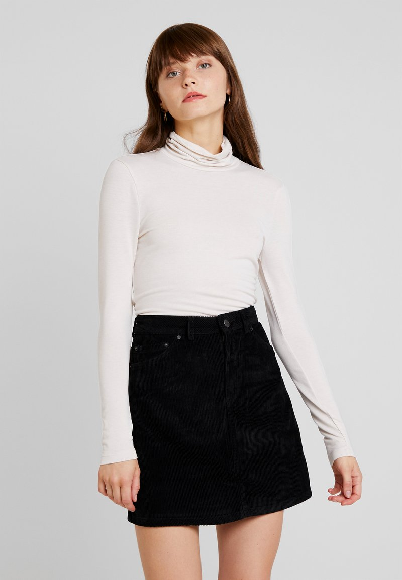 Vero Moda - VMCARLA HIGHNECK TOP - Long sleeved top - birch
