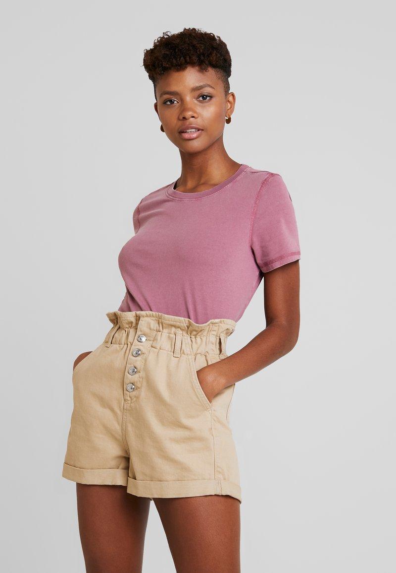 Vero Moda - VMCOLINE OLLY BOX - T-Shirt basic - hawthorn rose