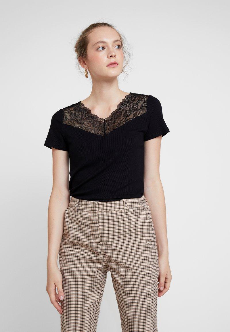 Vero Moda - VMANJA - T-Shirt print - black