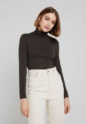 VMAVA LULU ROLLNECK  - Long sleeved top - peat