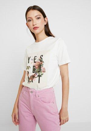 VMSEPTEMBER - T-shirt z nadrukiem - snow white