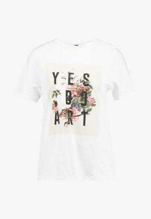 VMSEPTEMBER - T-shirts print - snow white