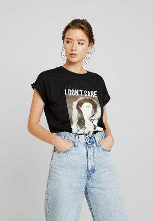VMART - Print T-shirt - black