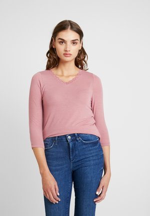VMHONEY V-NECK - Jumper - mesa rose