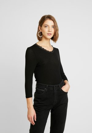 VMHONEY V-NECK - Pullover - black