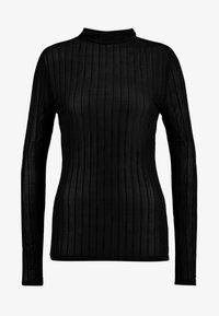 Vero Moda - VMDINA HIGH NECK - Topper langermet - black - 4