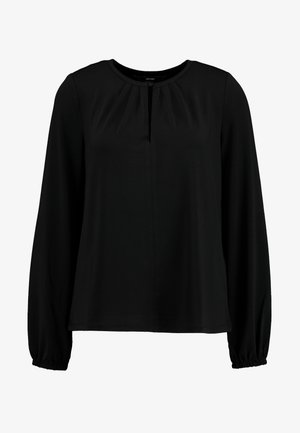 VMMILLA BUTTON - Long sleeved top - black