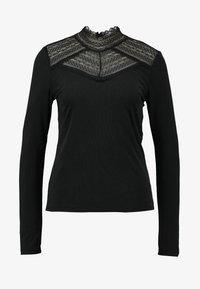 Vero Moda - VMLILJA HIGHNECK - Long sleeved top - black - 4