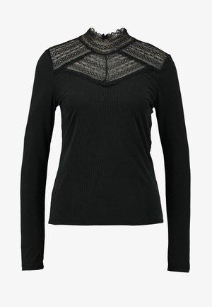 VMLILJA HIGHNECK - Pitkähihainen paita - black