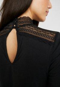 Vero Moda - VMLILJA HIGHNECK - Long sleeved top - black - 3