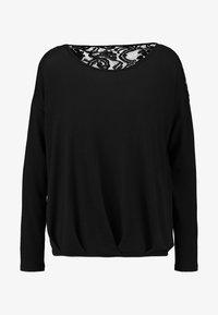 Vero Moda - VMMYHONIE PLEAT - Maglietta a manica lunga - black - 4