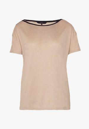 VMTESS - Print T-shirt - beige
