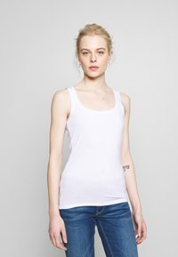 Vero Moda - VMAVA LULU TANK 2 PACK - Topper - bright white/black - 2