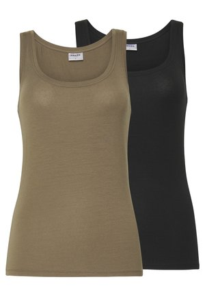 VMAVA LULU TANK 2 PACK - Top - bungee/black