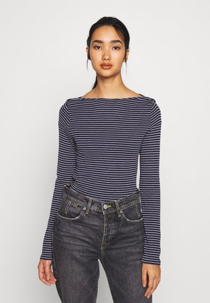 VMGERI BOATNECK - T-shirt à manches longues - dark blue