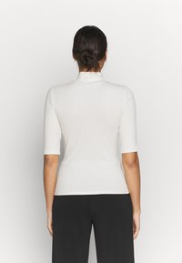 Vero Moda - VMISLA 2/4 HIGH NECK TOP GA VO - T-shirt basic - birch - 2