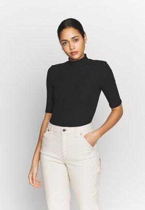 VMISLA 2/4 HIGH NECK TOP GA VO - T-shirts - black