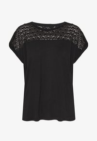 Vero Moda - VMSOFIA LACE TOP - T-shirt basic - black - 3
