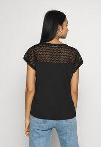 Vero Moda - VMSOFIA LACE TOP - T-shirt basic - black - 2
