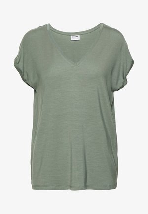 VMAVA V-NECK TEE - Basic T-shirt - laurel wreath