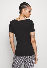 Vero Moda - VMPANDA NOOS - T-shirts - black - 2