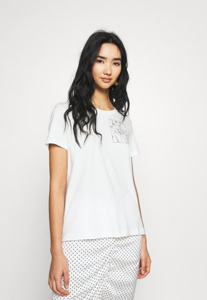 VMKATHERINAFRANCIS - T-shirt z nadrukiem - snow white