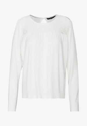 VMJASMIN - Long sleeved top - snow white