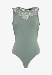Vero Moda - VMALBERTA SWEETHEART BODY COLOR - Débardeur - laurel wreath - 3