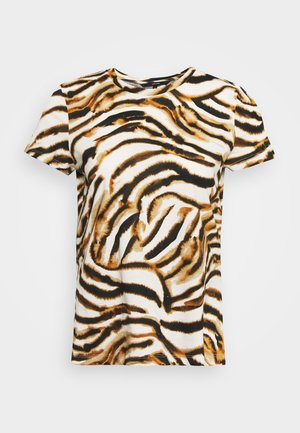 VMKOURTNEY BOX - T-shirt print - meerkat/kourtney