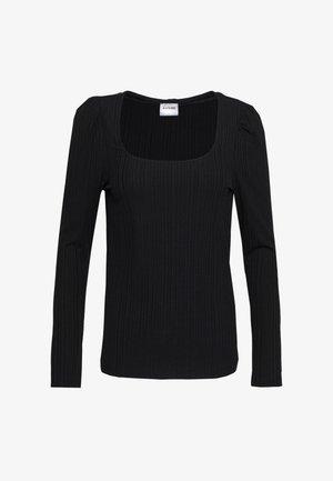 VMKETTI DEEP - Bluzka z długim rękawem - black