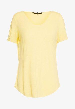 VMHANNELUA BOX  - T-shirt basique - banana cream
