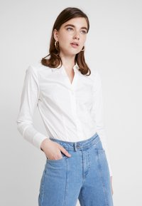 Vero Moda - VMLADY - Button-down blouse - snow white - 0