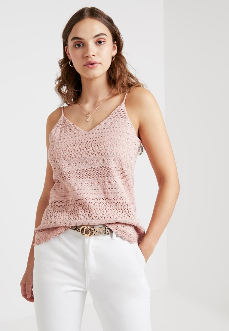 Vero Moda - VMHONEY SINGLET - Top - misty rose